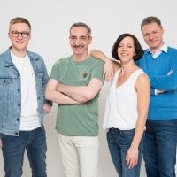 Radio Brocken Morgenshow_Simon Dietze, Amrei Gericke, Tilo Liebsch, Dirk Rosenberg_01
