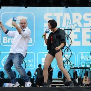 Radio Brocken Moderatoren Marc Angerstein und Amrei Gericke