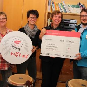 Radio Brocken hilft eV_Spendenuebergabe ans Kinderzentrum Magdeburg_01