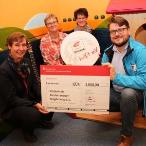 Radio Brocken hilft eV_Spendenuebergabe ans Kinderzentrum Magdeburg_03