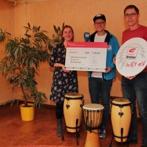 Radio Brocken hilft eV_Spendenuebergabe an Behindertenverband Dessau_01