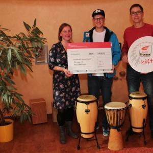 Radio Brocken hilft eV_Spendenuebergabe an Behindertenverband Dessau_03